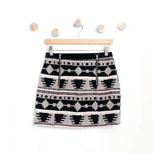 Bishop + Young Southwest Mini Skirt